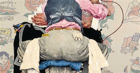 eclectic suitcase norman rockwell tattoo artist