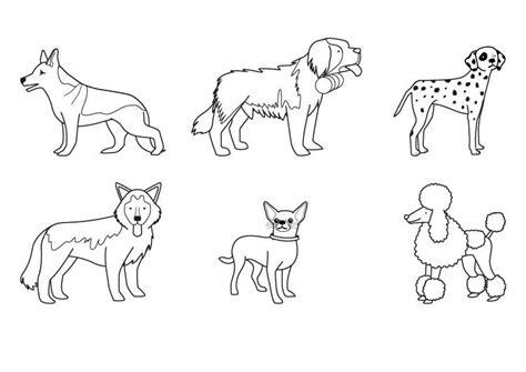 dibujos infantiles de perros dibujos de perros tattoo dibujos de perros para colorear dibujos de razas de