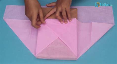 tutorial membungkus kado dari kertas kado cara membungkus kado bentuk kimono