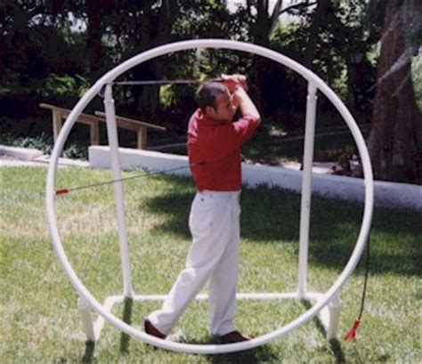 make your own swing plane trainer world of golf super golf swing trainer