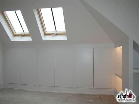Loft Cupboards loft conversion bedroom with ensuite putney sw15