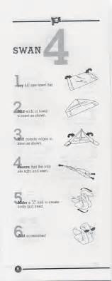 How To Make A Paper Napkin Swan - handtuch basteln falten on towel origami