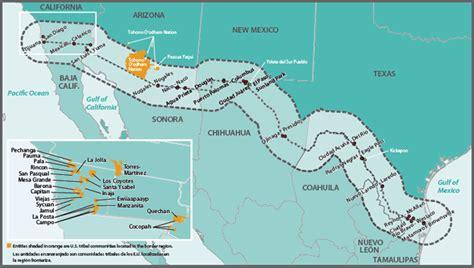 map usa mexico border u s mexico border 2020 program us epa