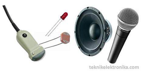 Jenis Dan Mixer Audio pengertian transducer dan jenis jenisnya teknik audio