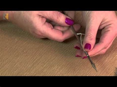 Upholstery Button Needle by Upholstery Tufting Needle