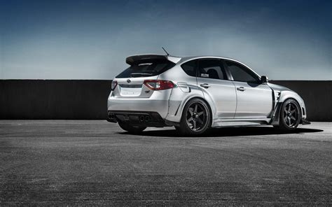 subaru wallpaper wallpaper subaru impreza wrx sti white side view hd