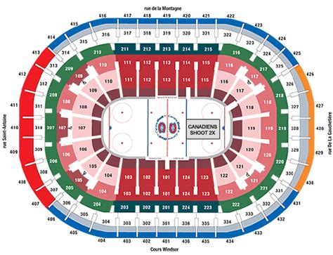 Centre Bell Floor Plan by Montreal Canadiens St Louis Blues 20 10 2015 Bell
