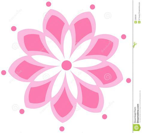 pink drawing pink flower logo royalty free stock image image 2286336