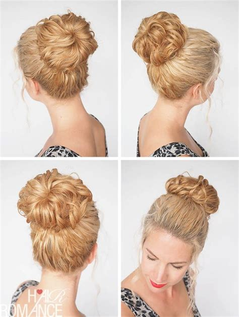 hairstyles with a hair donut 17 best images about sporty buns donuts hair romance
