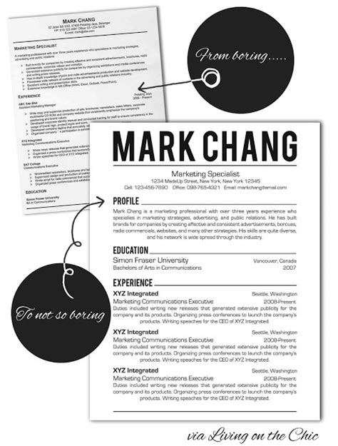 an exle of modern and eye catching resume styling that will still get past applicant tracking