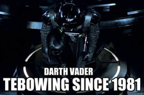 Darth Vader Meme Generator - darth vader tebow memes quickmeme