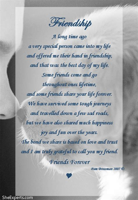 A Friendship S friendship poem welcome to repin and enjoy