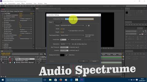 tutorial typografi tutorial typografi audio spectrume youtube