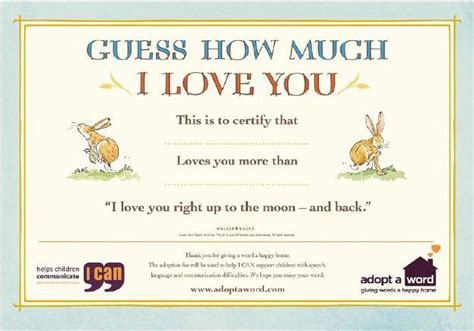 rabbit birth certificate template guess how much i you to be featured in the mirror