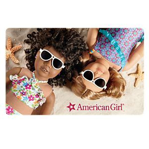 American Girl Store Gift Cards - american girl traditional gift cards american girl 174
