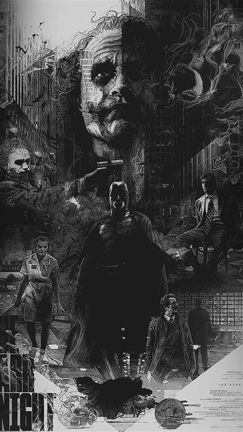 az joker batman poster film hero illustration art wallpaper