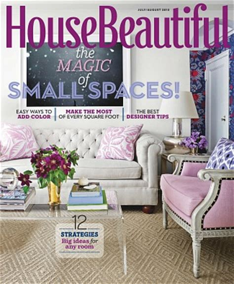 housebeautiful magazine decorating a maisonette with a small garden hooked on houses