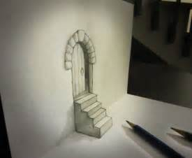 How To Draw 3d Stairs On Paper by Technology Incredible Anamorphic 3d Pencil Drawings By