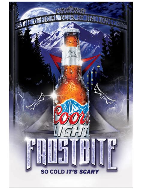 coors light cold facts coors light production on behance