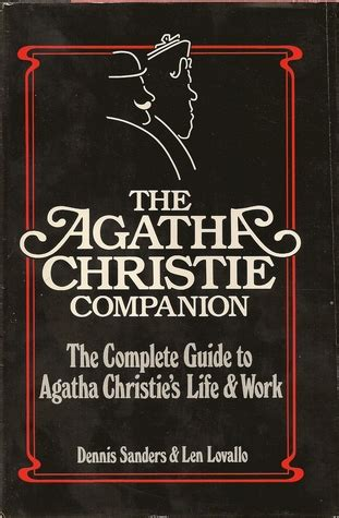 agatha christie companion  dennis sanders reviews