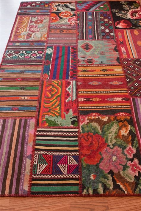 How To Make A Patchwork Rug - patchwork rug home