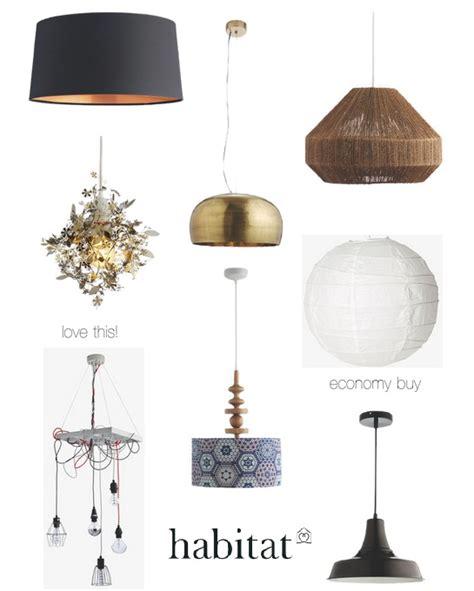 Easy Fit Pendant Lights From The High Street Dear Designer Habitat Lights