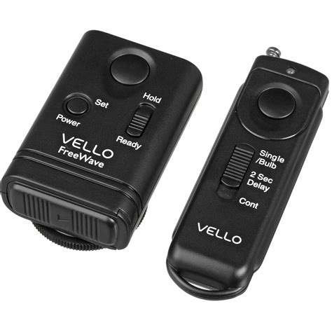 vello freewave wireless remote shutter release for nikon rw n2