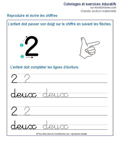 au section 25 best ideas about exercice grande section on pinterest