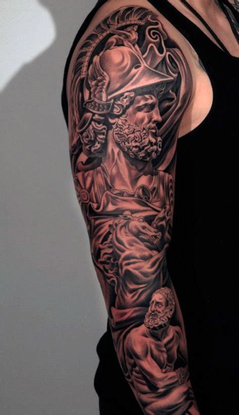 top arm tattoos for men top 100 best sleeve tattoos for cool designs and ideas