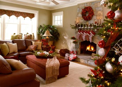 Christmas Home Decoration Ideas | 40 fantastic living room christmas decoration ideas all