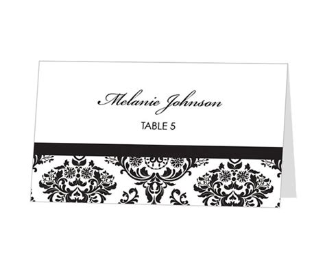 avery place card template instant avery place card template damask