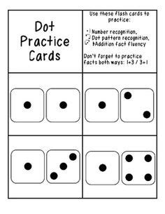 printable dot cards for subitizing number sense on pinterest number sense even and odd and