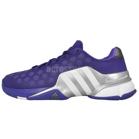 adidas barricade 2015 adiwear white purple mens tennis