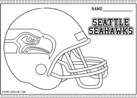 Pin Seahawks Coloring Pages On Pinterest Seahawks Color Pages