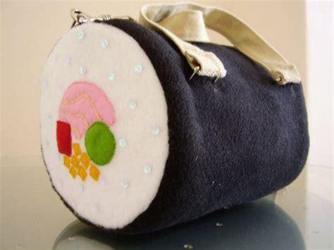 Handmade Sushi - handmade sushi roll handbag