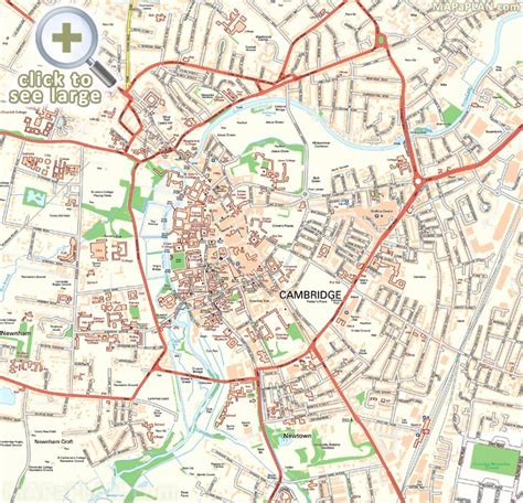 printable map leeds city centre map of oxford england city centre