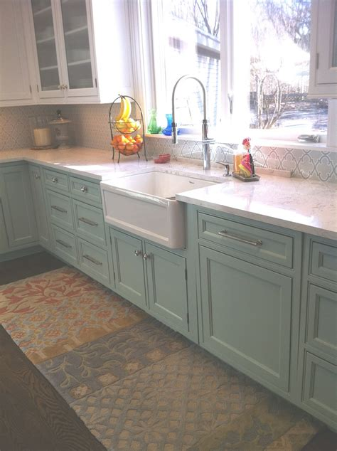 Mint Green Kitchen Cabinets by Mint Green Cabinets Kitchen