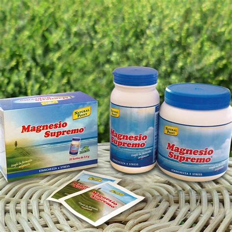 magnesio supremo ingredienti point la bottega naturale