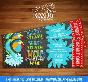 Backyard Water Slides Kids 25 Best Ideas About Water Party Invitations On Pinterest