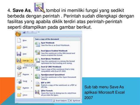 tab menu yang berisi perintah layout slide adalah perangkat lunak pengolah angka excel 2007