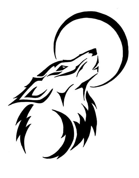 drawing of tribal tattoo best 25 tribal wolf ideas on tribal wolf