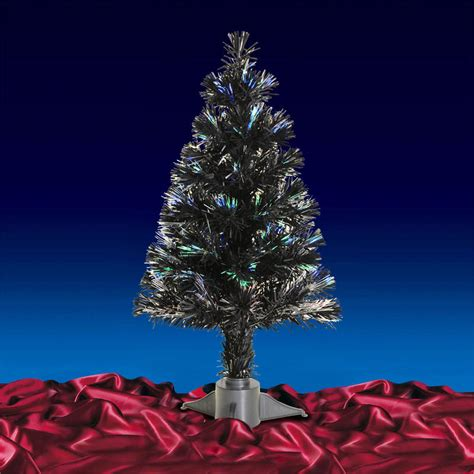 2ft 60cm beautiful black christmas tree with multi