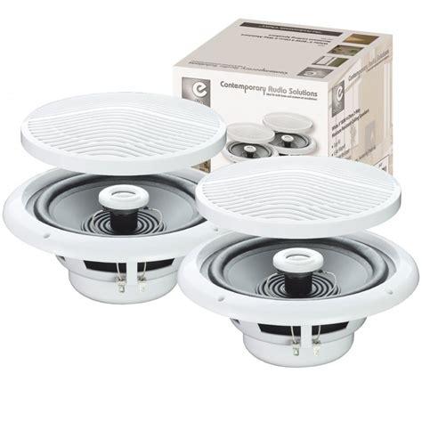 Moisture Resistant Ceiling Speakers by Pair Of E Audio 80w Ceiling Speakers 2 Way Moisture