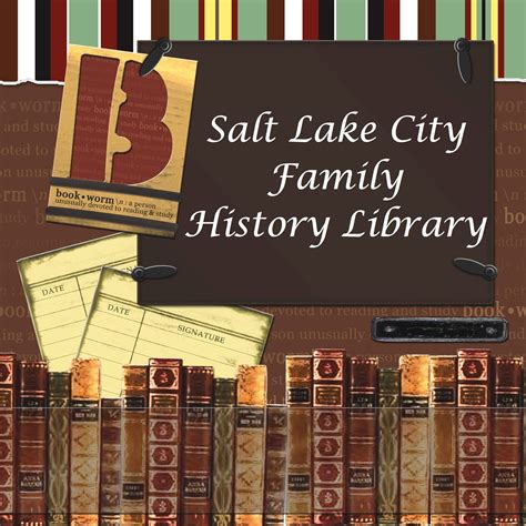 Salt Lake City Search Researching At The Family History Library A Genealogy