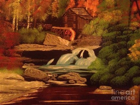 bob ross painting the mill west virginia grist mill painting bob ross west virginia