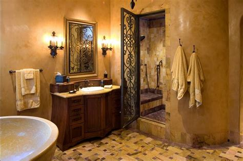 Mediterranean Style Bathrooms Mediterranean Bathroom Designs Master Bath Ideas