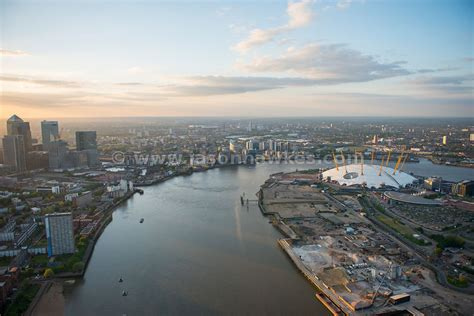 thames river greenwich aerial view aerial view of the greenwich peninsula and