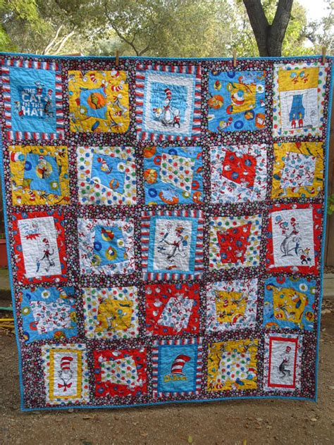 Dr Seuss Quilt Pattern Free by Project A Dr Seuss Quilt What Should I Do