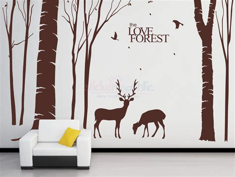 forest wall stickers the forest wall decal