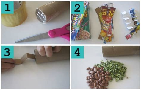 How To Make A Rainstick With A Paper Towel Roll - preschool stick craft